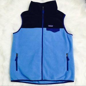 Patagonia Synchilla Blue Vest!